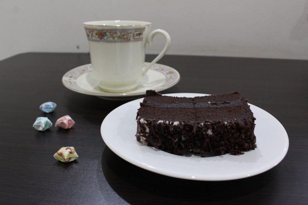 Brownie zum Tee